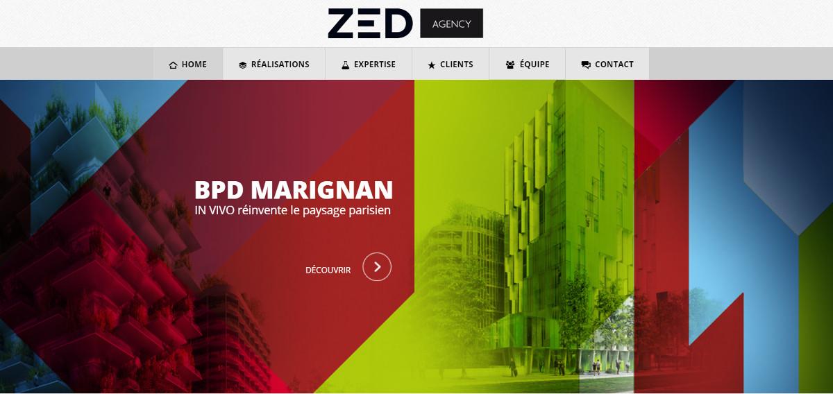 Zedagency Agence Communication Immobilier Illustration