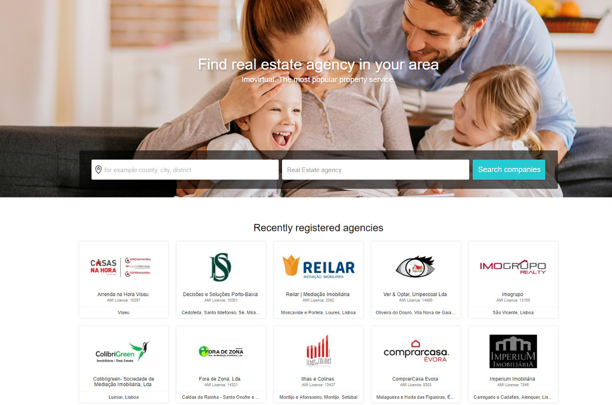 Imovirtual Recherche Agence