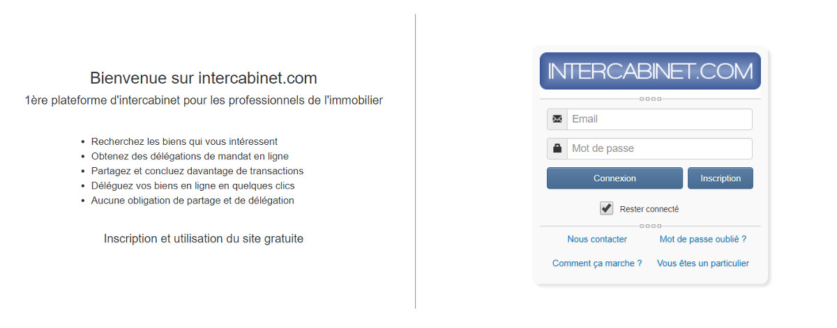 Intercabinet Immobilier Annuaire Prestataires
