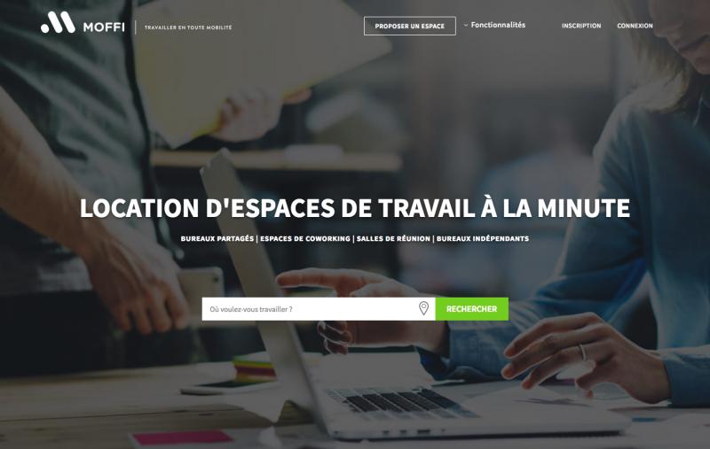 Moffi Location Espace Partagé Coworking