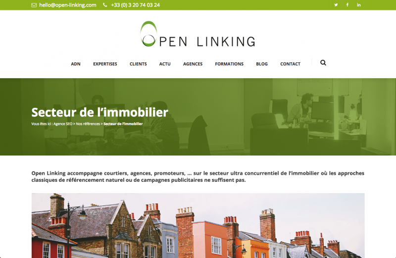 Openlinking Internet Immobilier