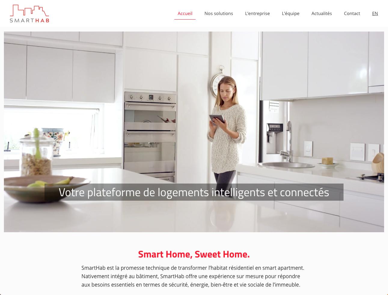 Smart Hab Logement Connecte Objet Intelligent Immobilier