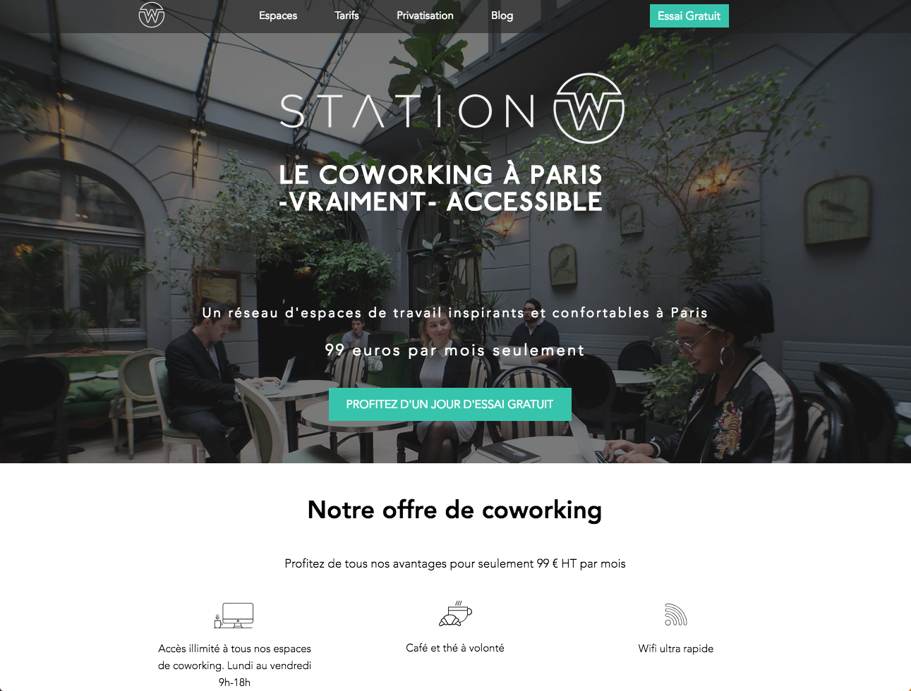 Stationw Coworking Pas Cher Paris