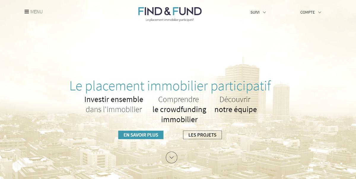 Find&fund Crowdfunding Immobilier