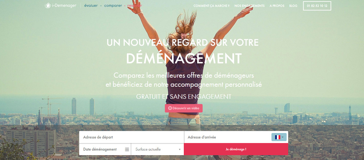 I Demenager Logo Services Demenageurs Immobilier Annuaire