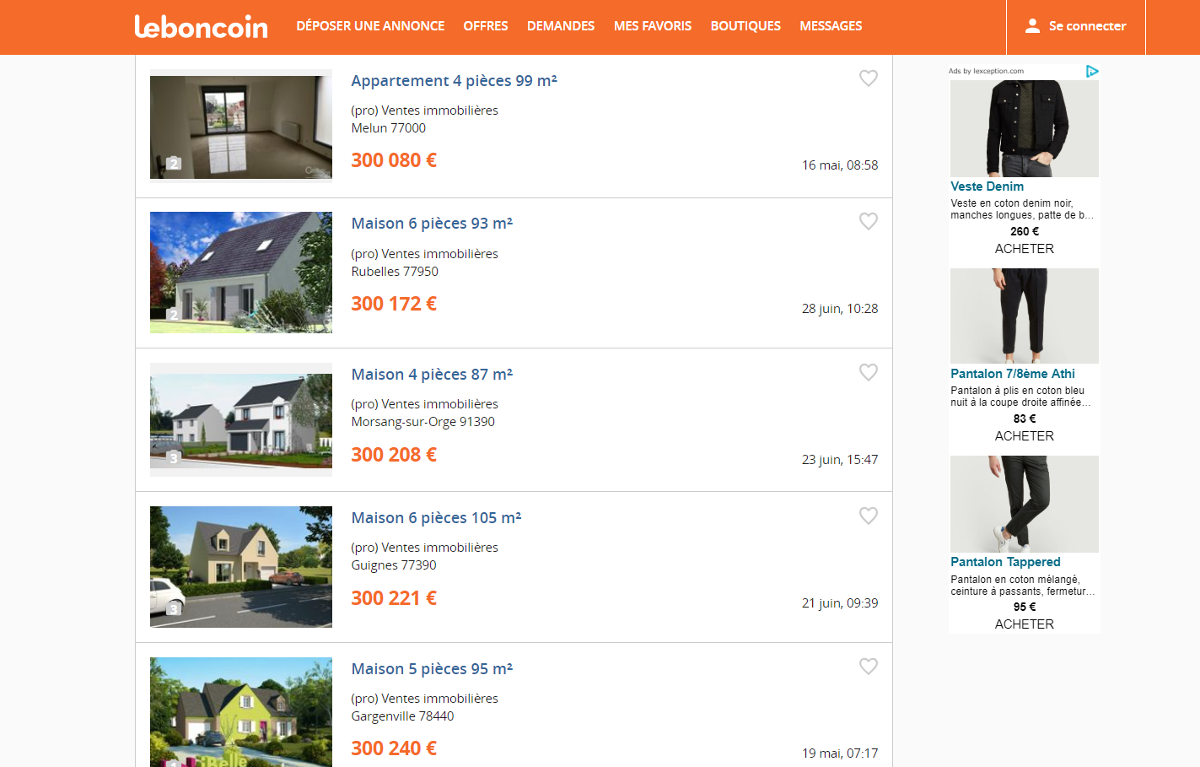 Leboncoin Portail Immobilier Optimiser Annonce Prix Exmeple