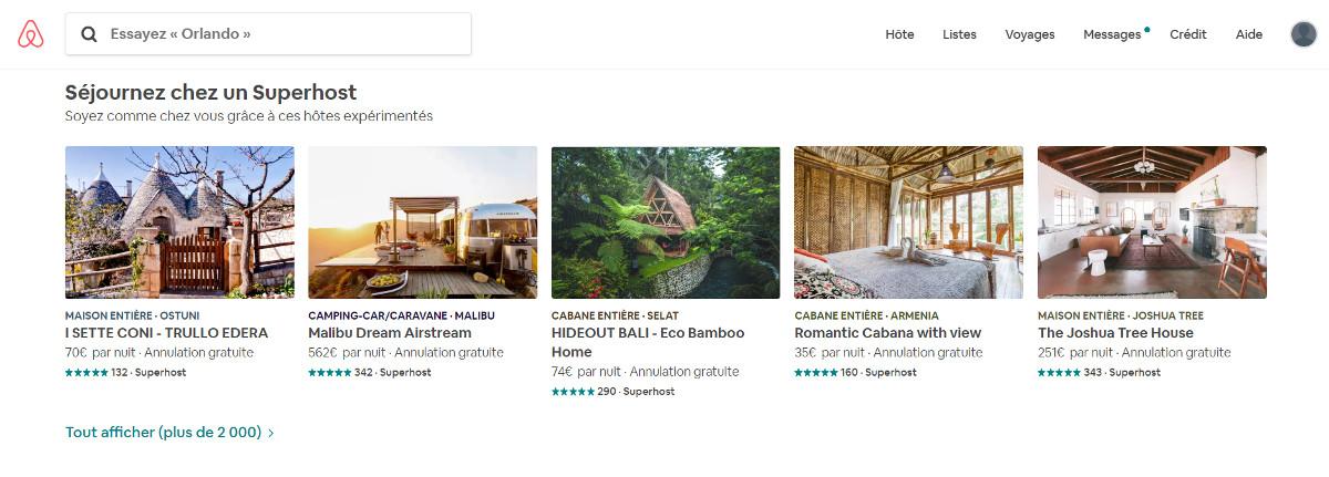Airbnb Exemple Location Saisonnier Professionnels Immobilier Superhost