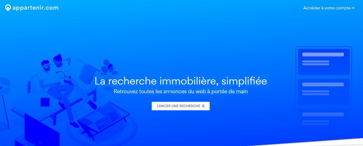 Appartenir Recherche Immobilier Homepage