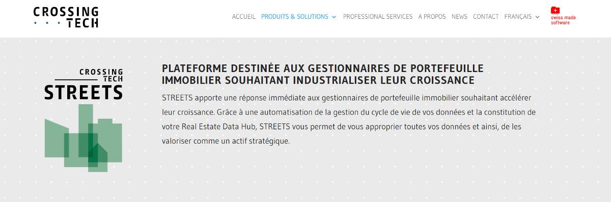 Crossingtech Street Data Immobilier