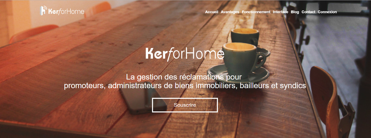 Kerforhome Gestion Incidents Immobilier Gestion Homepage