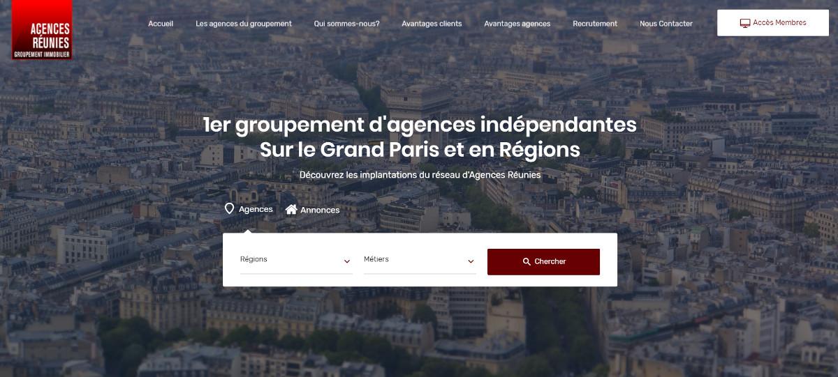 Agencesreunies Reseau Agences Independantes