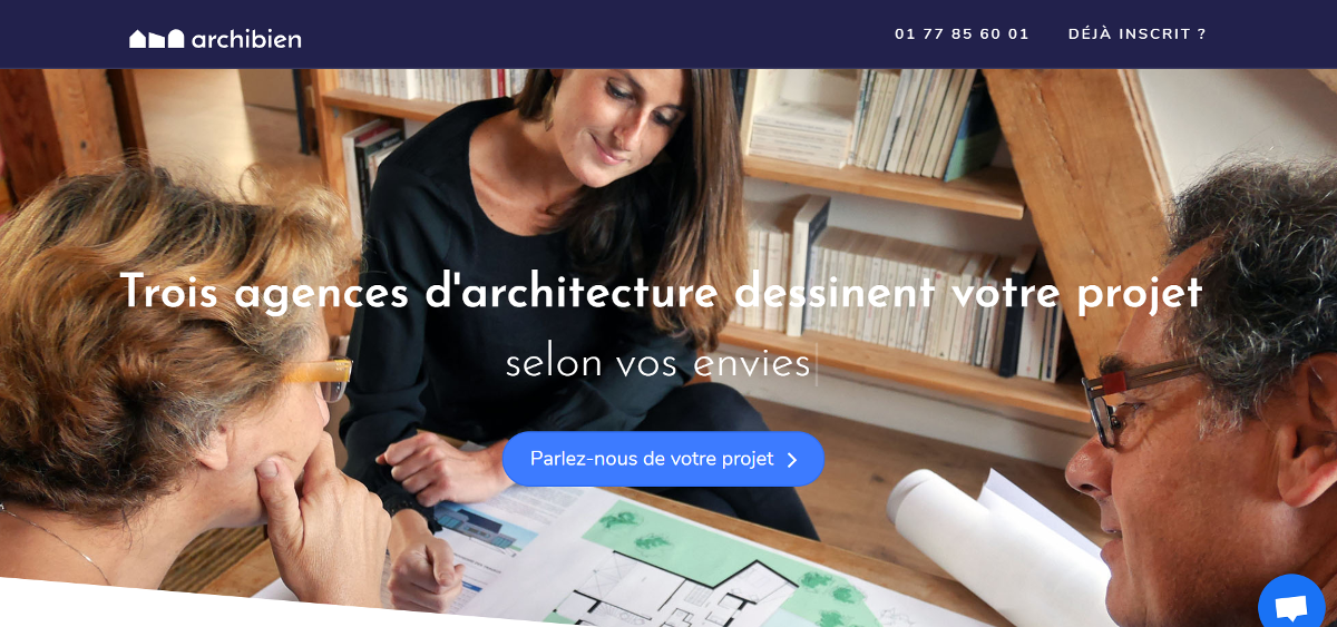 Archibien Startup Immobilier Architecture Chantier