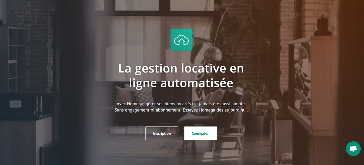 Homega Gestion Locative Ligne Startup Immobilier