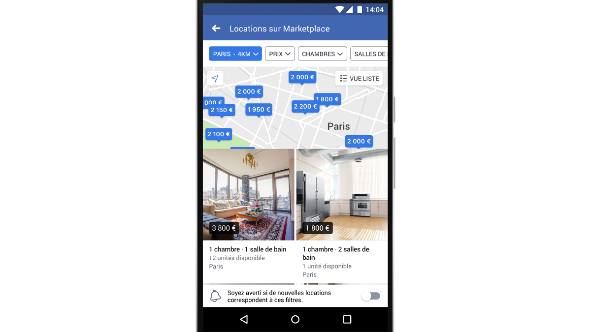 Marketplace Facebook Location Immobilier 2