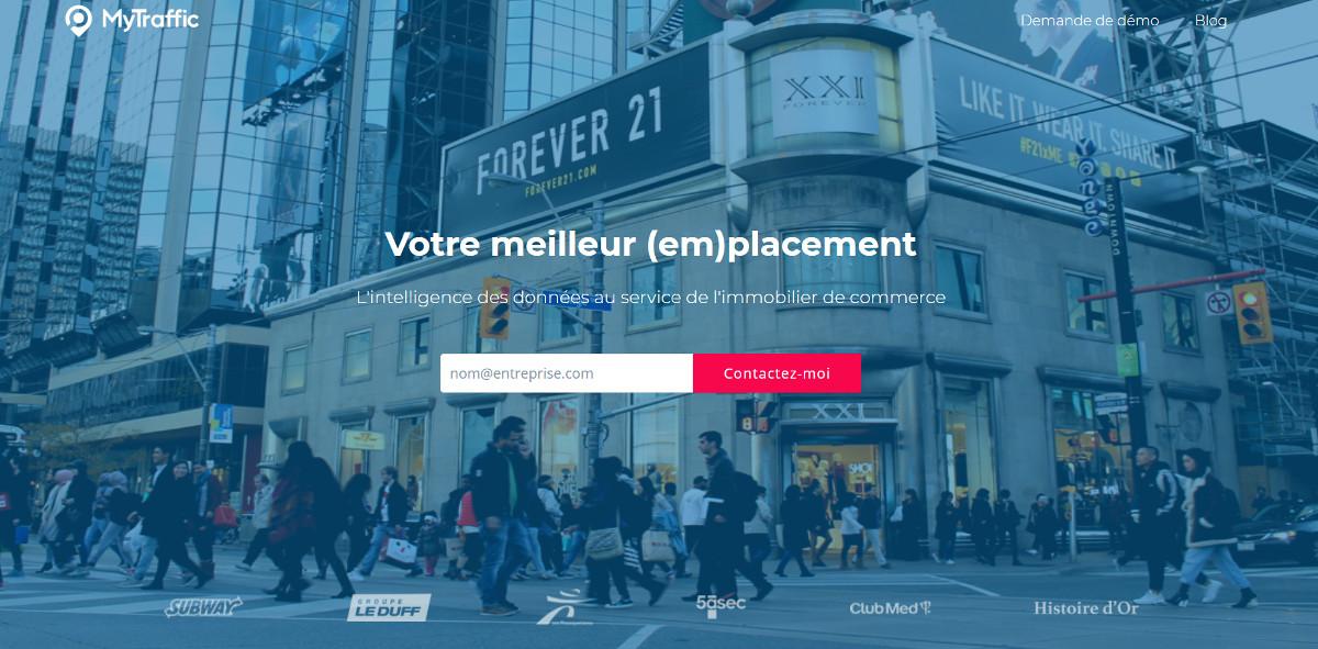 Mytraffic Startup Immobilier Data Passage Locaux Commerciaux