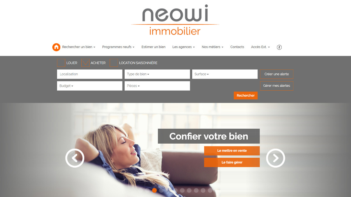 Neowi Franchise Agence Immobiliere Illustration