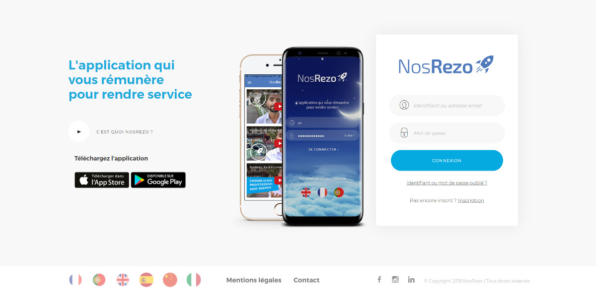 Nosrezo Startup Immobilier Services Particuliers