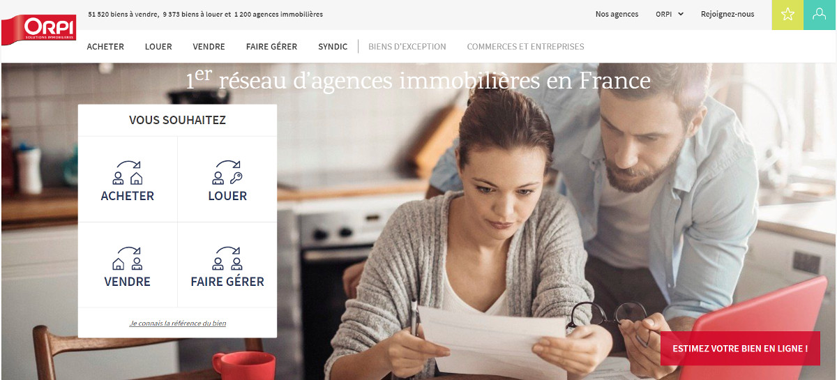 Orpi Reseau Immobilier Franchises