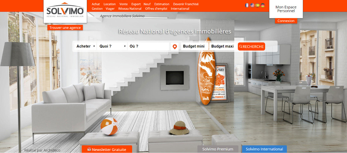 Solvimo Reseau National Agence Immobilier