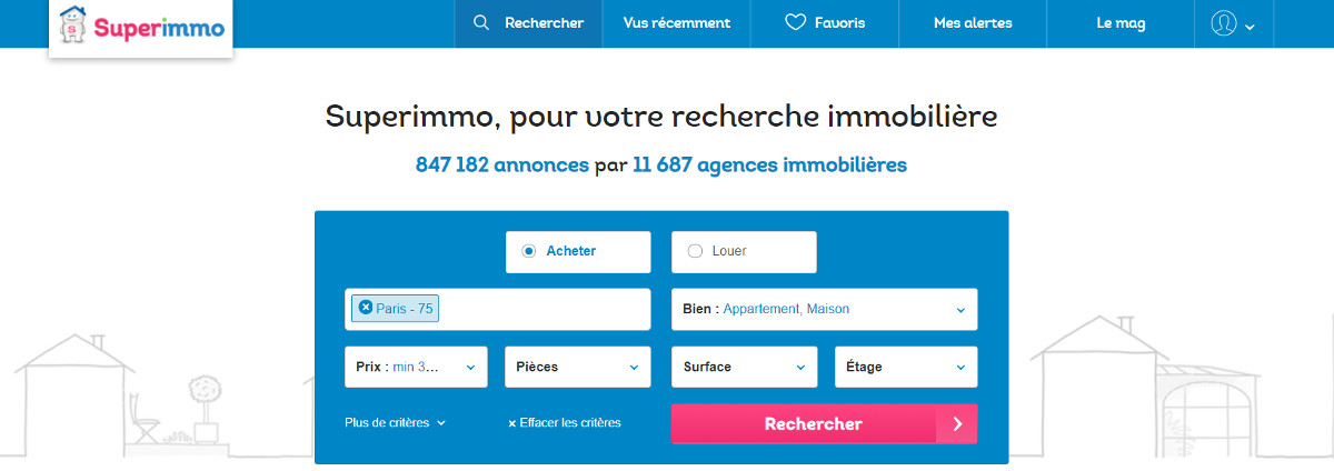 Superimmo Portail Immobilier France Annuaire