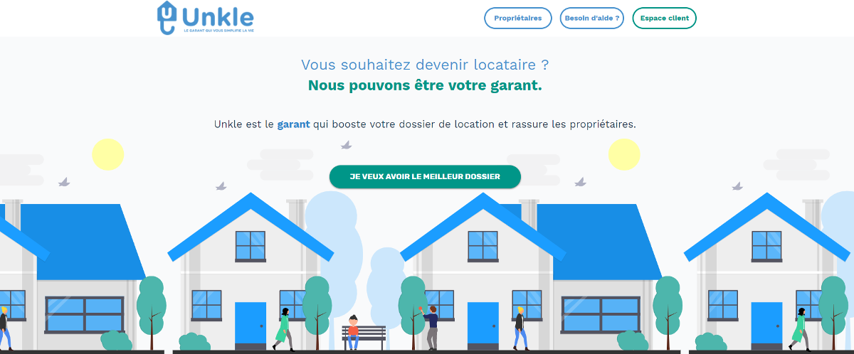Unkle Startup Immobilier Rent Garant Gestion Locative