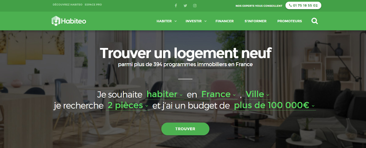 Habiteo Startup Immobilier Construction
