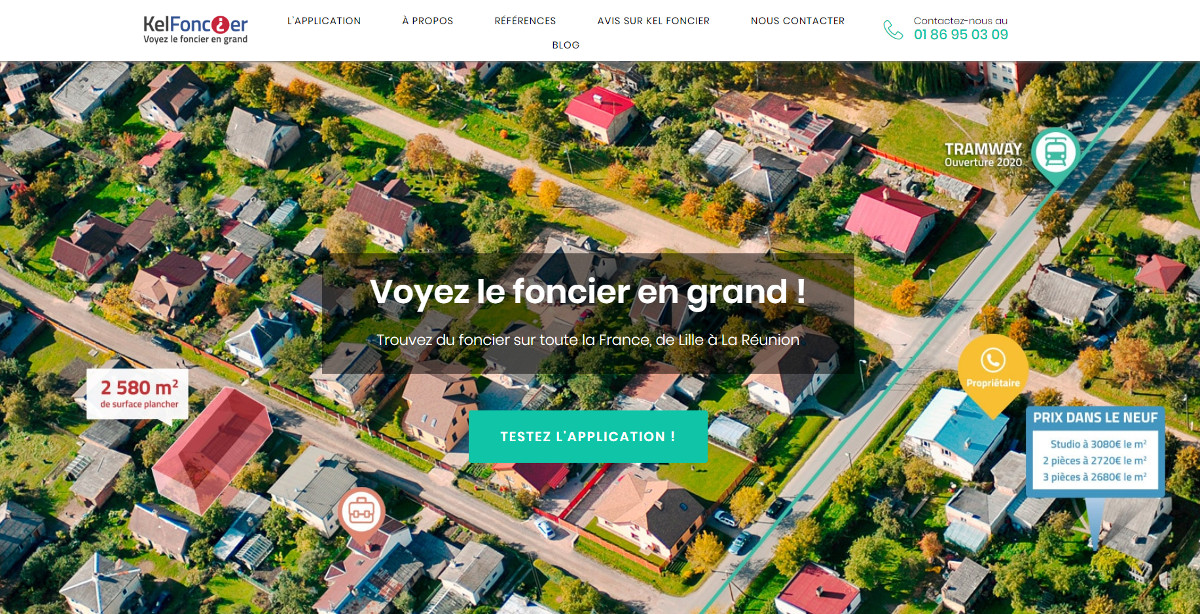 Kelfoncier Startup Immobilier Prospection Foncier