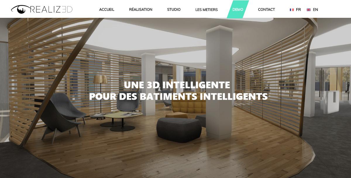Realiz3d Startup Immobilier Maquette Numerique