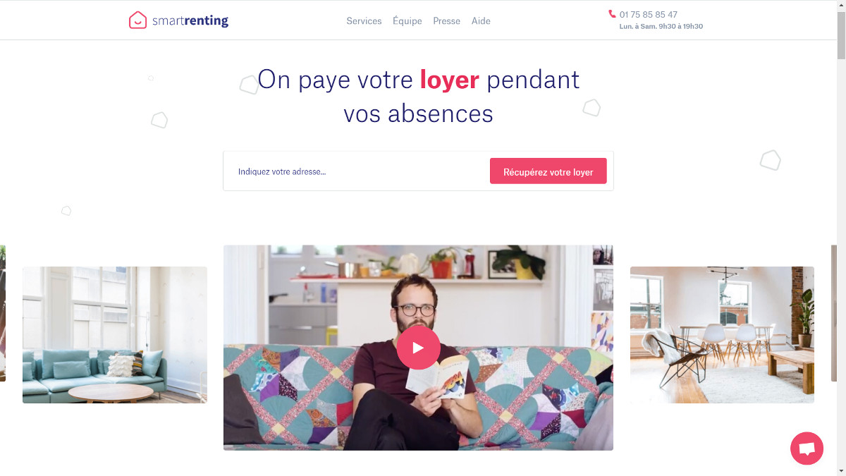Smartrenting Startup Immobilier Sous Location