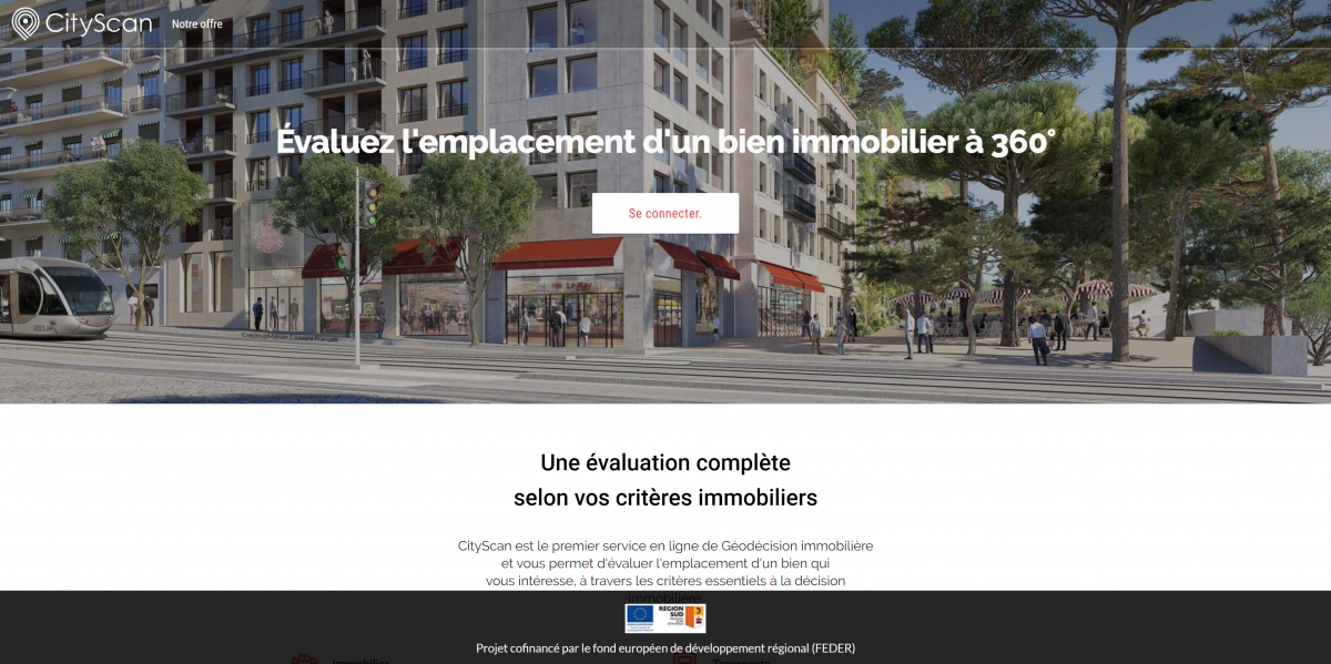 Cityscan Geodecision Immobiliere