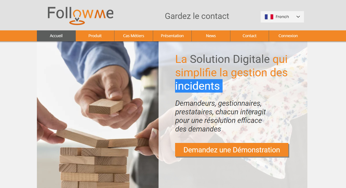 Followme Gestion Incidents Immobilier Logiciel Homepage