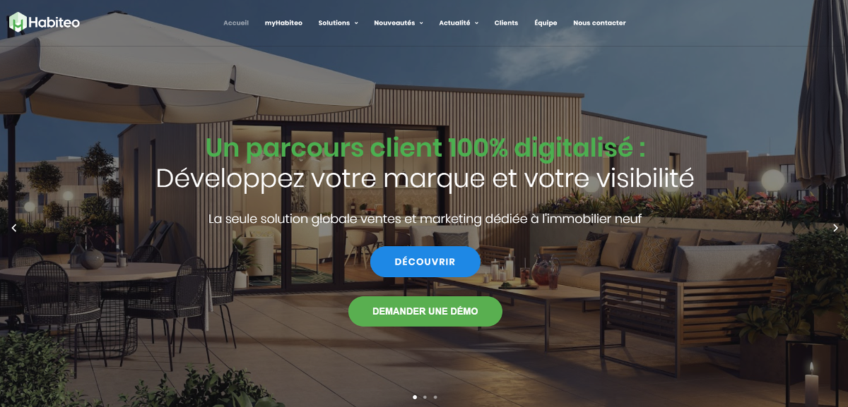 Habiteo French Proptech Tour Immobilier Startup