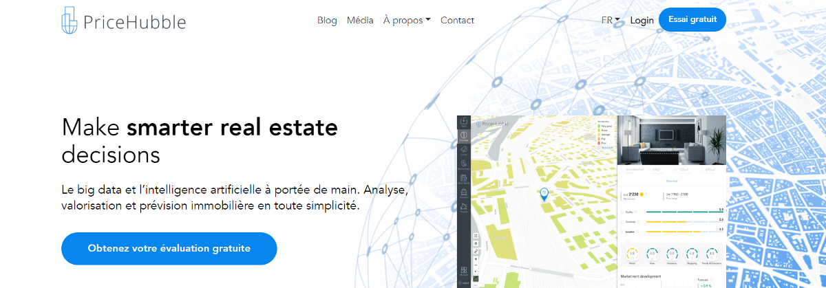 Pricehubble French Proptech Tour Startup Decision Immobilier