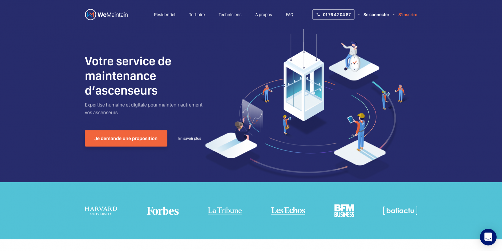 Wemaintain Service Maintenance Ascenseurs Immobilier 20