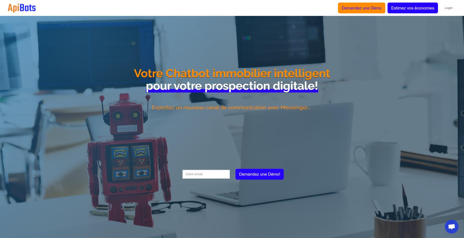 Apibots Chatbot Immobilier Intelligent 1