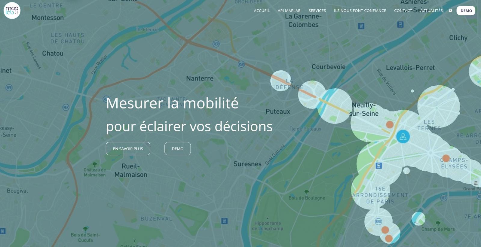 Maplab Mesure De La Distance Recherche Immobiliere