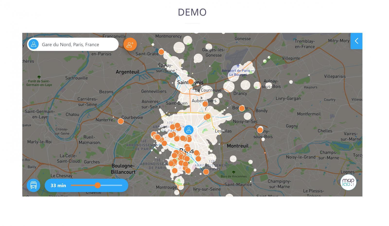 Maplab Mesure De La Distance Recherche Immobiliere 2