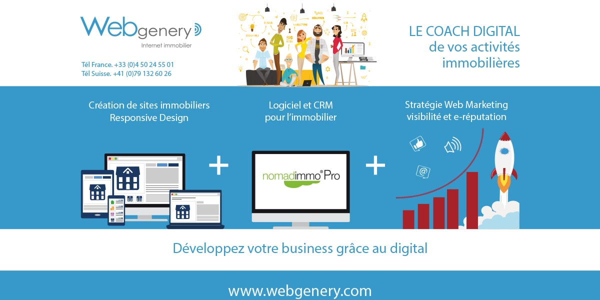Webgenery Site Immobilier Immo2 0
