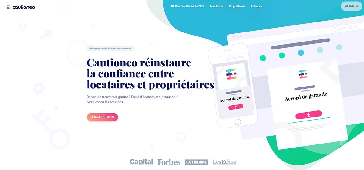 Cautioneo Startup Immobilier Rent2019 Salon Nouvelles Technologies Finaliste Concours