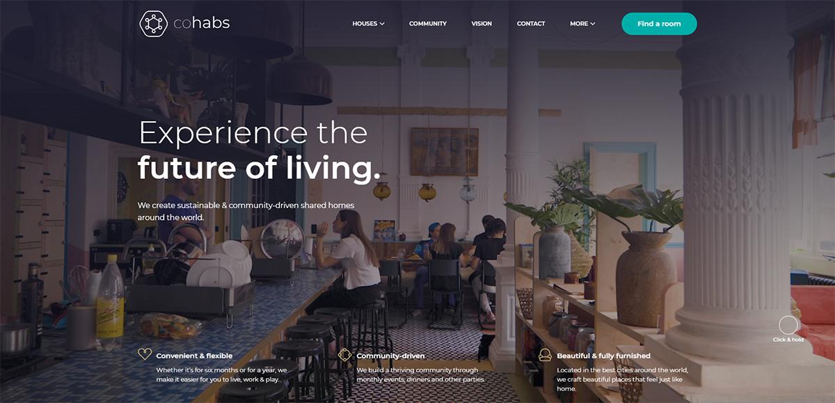 Cohabs Coliving Startup Immobilier Belge Levee Fonds