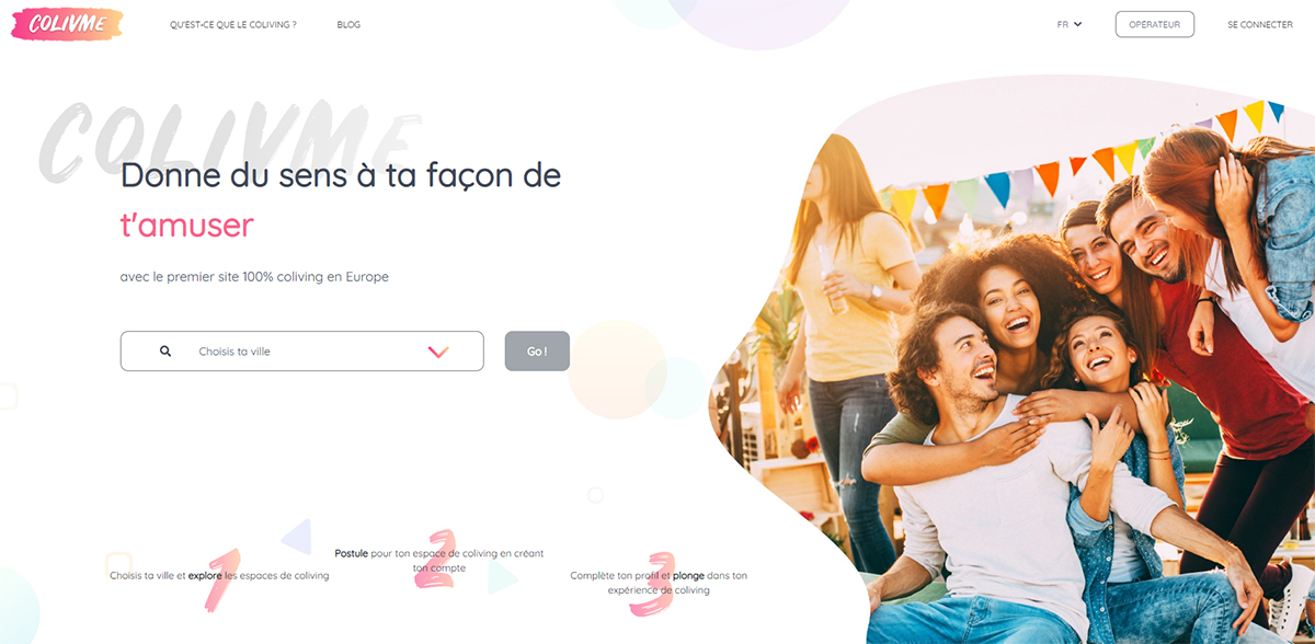 Colivme Startup Immobilier Rent2019 Concours Annonce