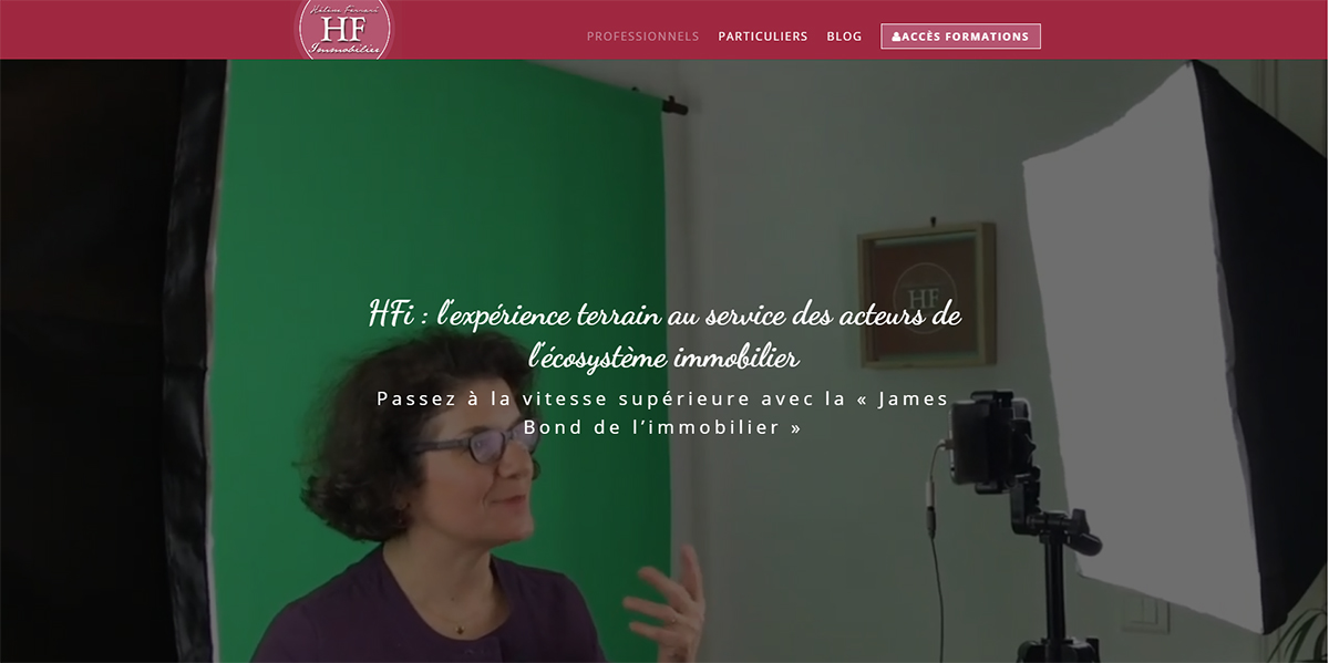 Helene Ferrari Formation Immobilier Performance Commerciale Illustration