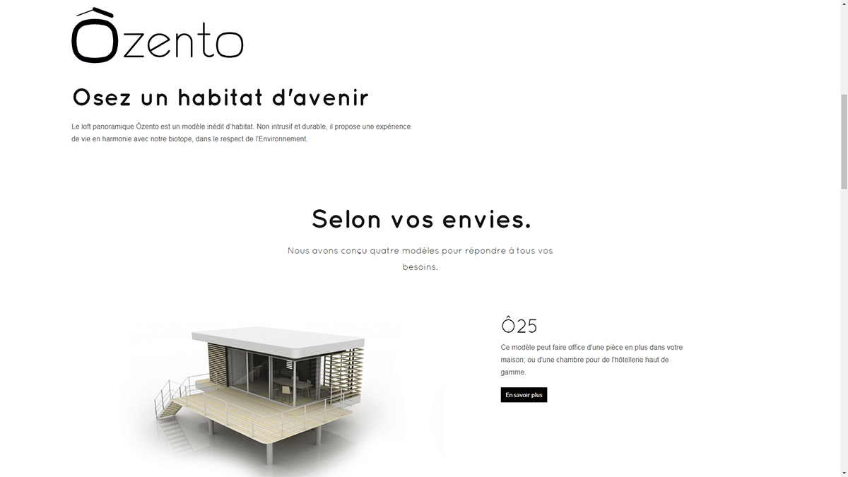 Ozento Startup Rent 2019 Immobilier Salon Marketing Illustration