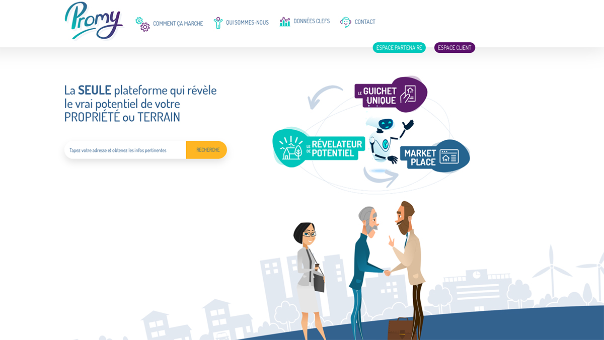 Promy Startup Immobilier Rent Salon Marketing Nouvelles Technologies Finalistes Concours