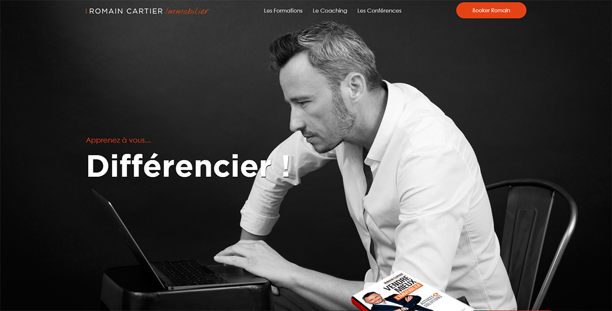 Romain Cartier Formateur Immobilier Illustration Homepage