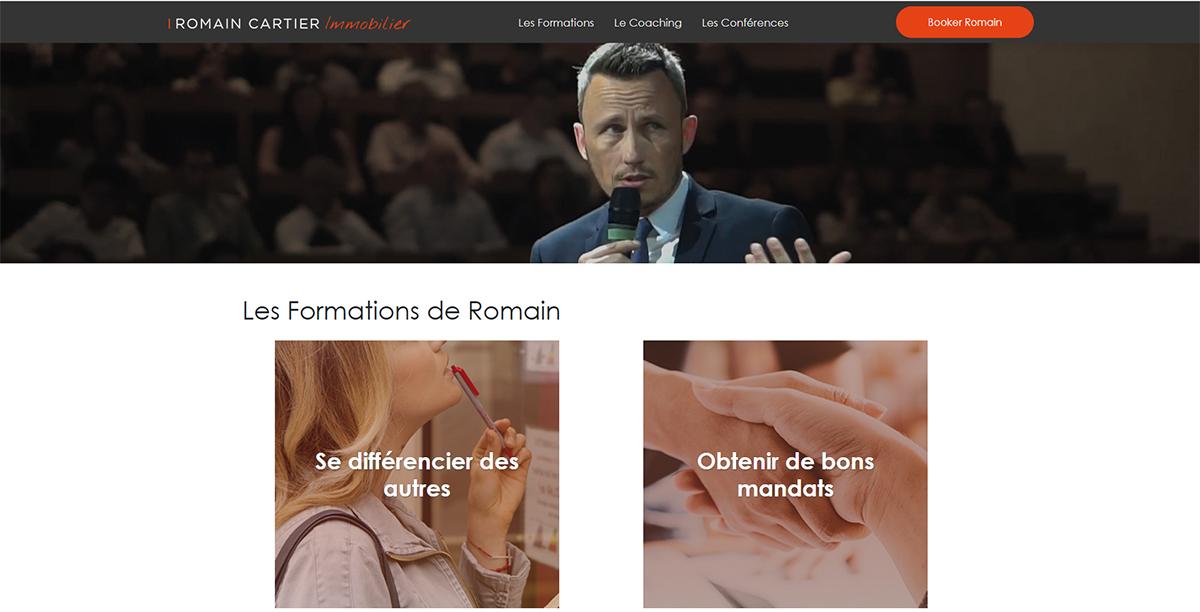 Romain Cartier Formation Immobilier Expert