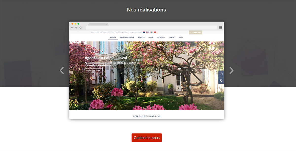 Entities Site Internet Professionnels Immobilier