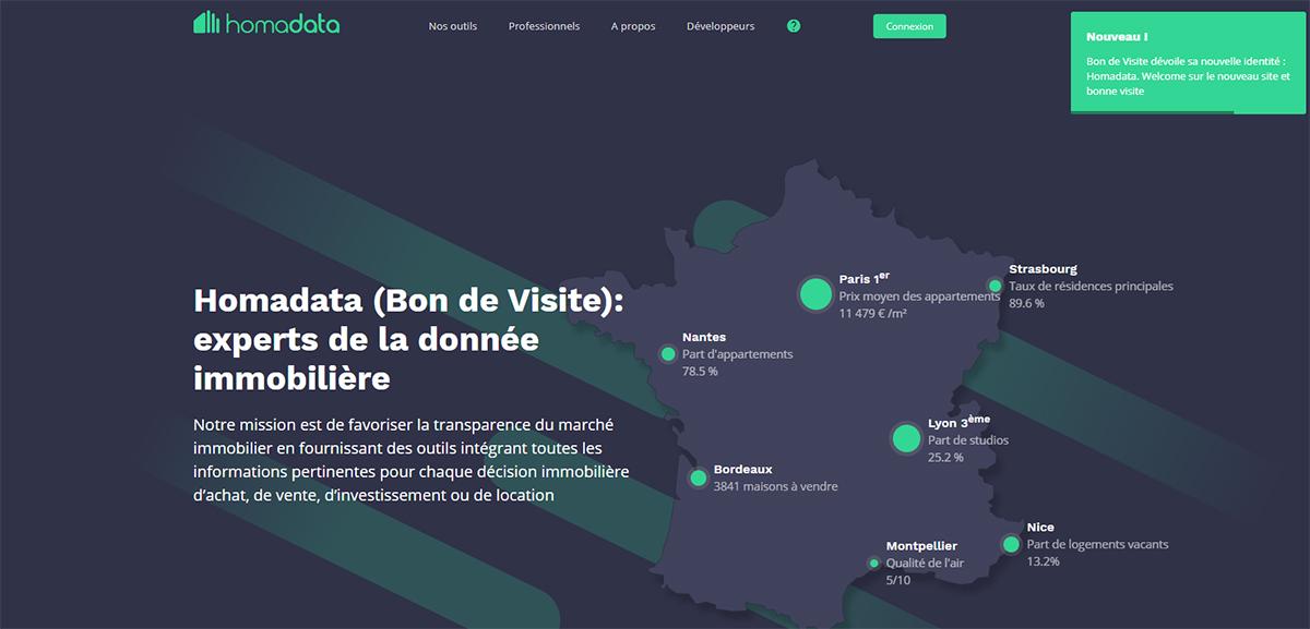 Homadata Bondevisite Donnees Immobilieres Startup