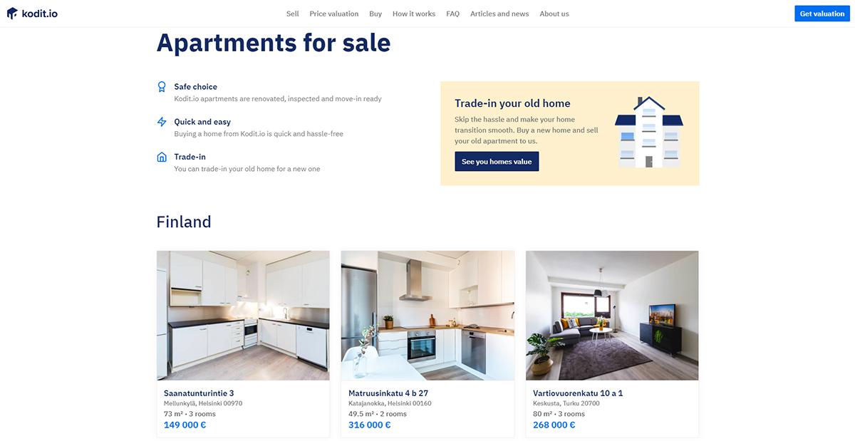 Kodit Propertyportawatch Madrid Ibuyer Finlande