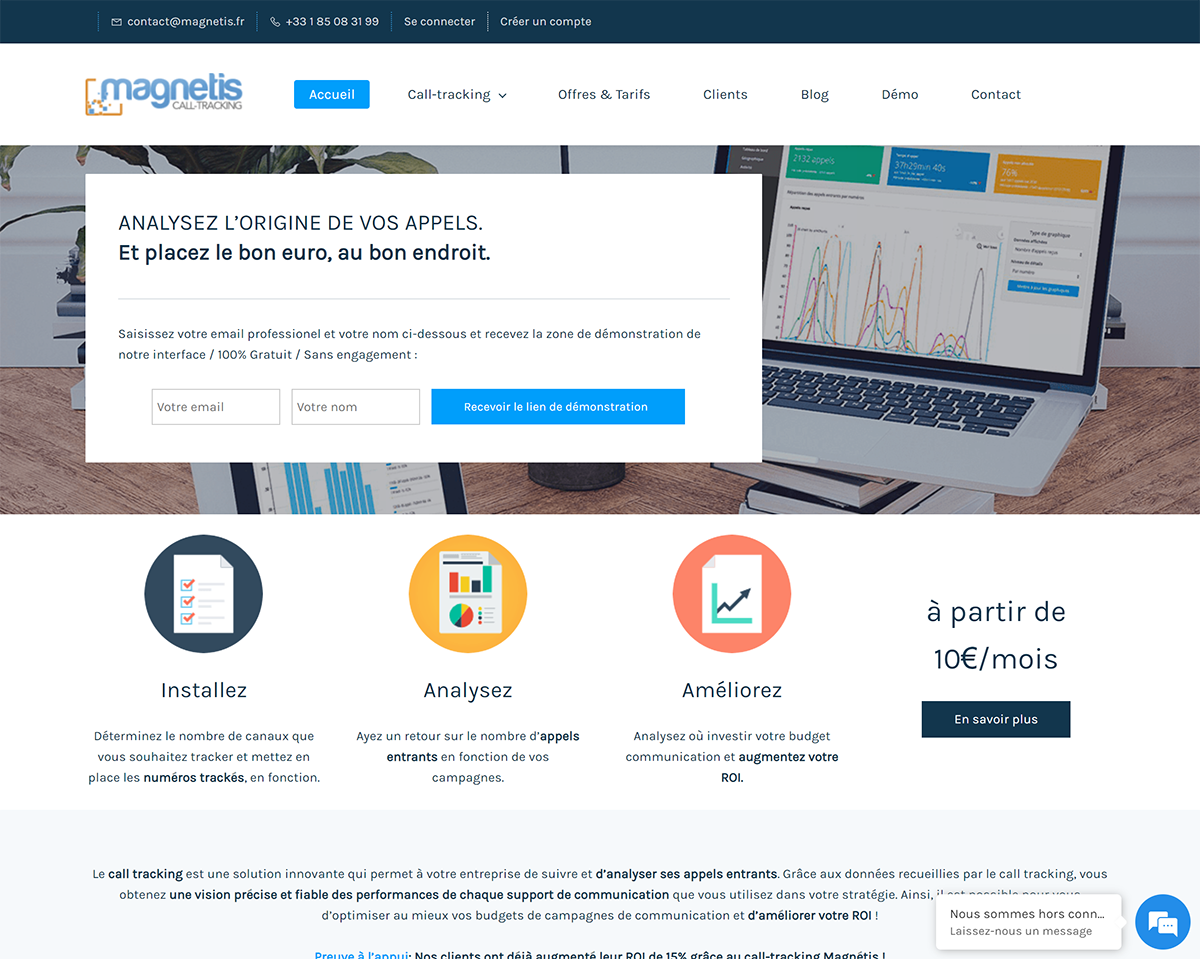 Magnetis Solution De Call Tracking 1 1